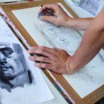 Zeichnung im Kunstunterricht